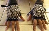 Vingerloze handschoenen van Chainmaille
