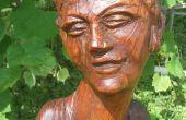 Hout Sculpture restauratie