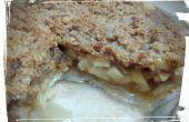 Voorlaatste karamel Crumb appeltaart