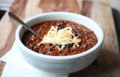 Zwarte bonen chili recept