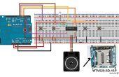 Het gebruik van WTV020SD - 16P met Arduino