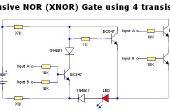 Meer digitale logica Gates slechts met behulp van Transistors