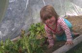 Hoepel huizen - tuinieren het hele jaar in New England.