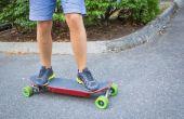 Elektrische Skateboard v2.0: Smartphone gereguleerde