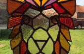 Gebrandschilderd glas Lion