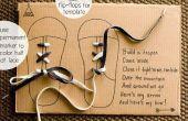 Hoe kan iemand leren schoenveter binden op een manier CUTE
