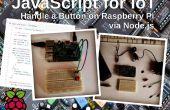 JavaScript voor IoT: beheersing van een knop op de Raspberry Pi via Node.js
