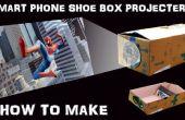 Hoe maak je Smartphone scherm Projector met schoenendoos