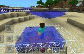 Hoe maak je een Minecraft brand-bad!