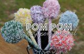 Mooie Pom Pom pennen!  Een grote Gift van de vakantie voor kinderen om te maken!
