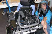 Hoe te fabriceren, configureren en installeren van een back-up systeemcamera op een rolstoel