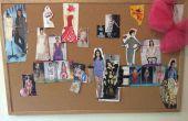 Inspirerende Fashion Design Cork Board