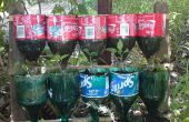 Fles kruidentuin – een recycling project.