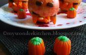 Apple monster| Snelle Halloween snack