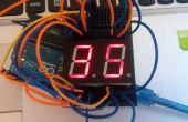Arduino eenvoudige 7 segment countdown timer