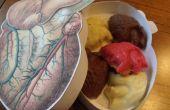 Anatomische chocolade harten (uw unieke Valentine, pt. 2)