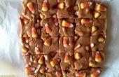 Candy Corn en Pretzels Fudge
