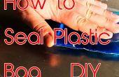Verzegel de Plastic zak thuis