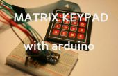 Het gebruik van een toetsenbord Matrix met Ardunio