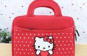 Hallo kitty zachte handtas voor ipad
