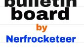 Kartonnen en duct tape bulletinboard!!!
