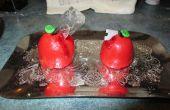 Poison Apple Cupcakes