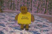 Hoe maak je een 3D Instructables Robot van karton