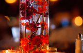 Eenvoudige, elegante, kunstmatige bloemen bruiloft Centerpieces