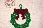 Xmas krans haak Ornament