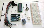 Thermohygrometer met klok en LCD-scherm van Arduino UNO