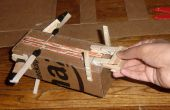 Papier vliegtuig kruisboog Launcher
