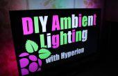DIY Ambient Lighting omgevingslicht met Hyperion. Werkt met HDMI/AV-bronnen || Raspberry Pi