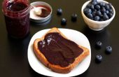 Slow Cooker Blueberry lavendel boter