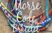 Morse Code armband