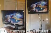 3D afgedrukt verstelbare staande receptie voor onder $50