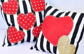 Aftelkalender voor Valentijnsdag kussens