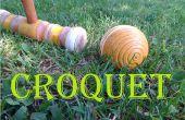 Om te spelen Croquet