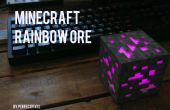 Minecraft Rainbow erts Lamp