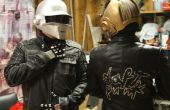Daft Punk-helmen en complete kostuums zonder gebruik te maken van een vacu-formulier