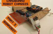 Kartonnen Chassis voor goedkope Robots 3: Boardbot