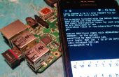 Headless Raspberry PI WiFi-setup (voor mobiele telefoons)