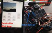 Milieu Monitoring Rover - aangedreven door Intel Edison
