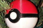 Pokeball Christmas Ornament