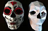 Bonus: Papercraft schedel masker