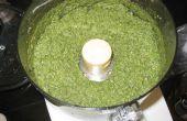 Pesto - recept met basilicum, knoflook, pijnboompitten en