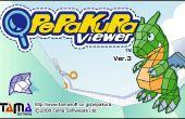 Het gebruik van Pepakura Viewer