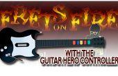 Aansluiten van uw held van de gitaar of Rock Band Controller op Frets on Fire