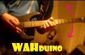 Wahduino - WahWah door schudden/verhoging van de gitaar