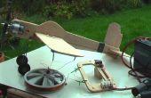 Bouwen en vliegen van een C/L modelvliegtuigen
