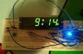 Arduino Klok met behulp van de standaardweergave van de klok